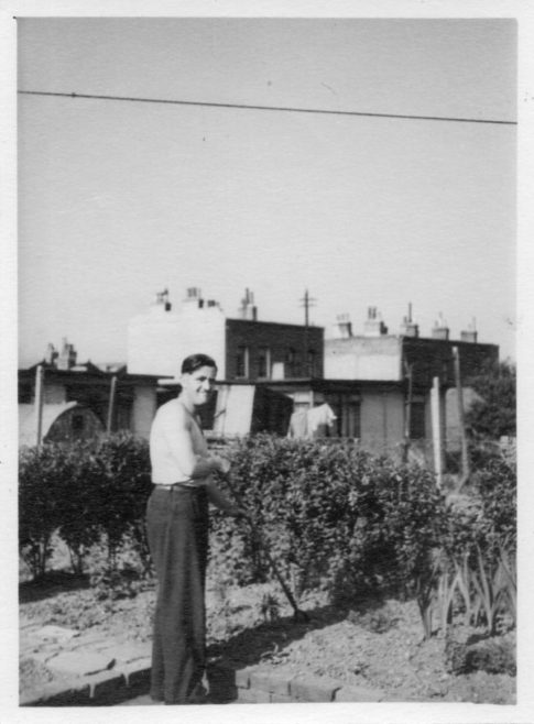 Robert Flanders. 7 Hind Grove, Poplar, E.14. c.1952 | Robert Flanders