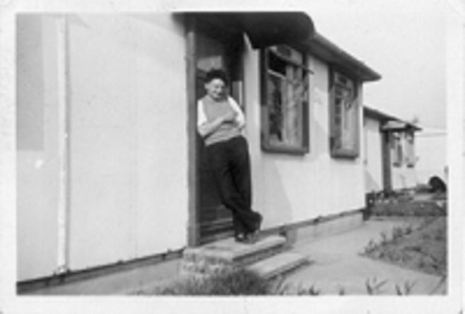 Grandad Jack Edwards, 31 St Peters Road, Chadwell St Mary