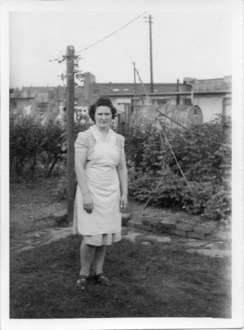 Annie Flanders. 7 Hind Grove, Poplar, E.14. c.1952 | Robert Flanders