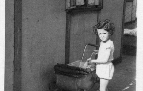 Christine Flanders 7 Hind Grove, Poplar, E14. c.1950