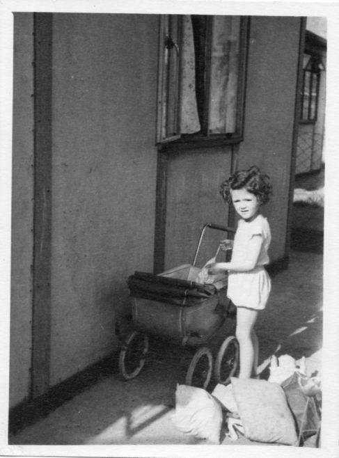 Christine Flanders 7 Hind Grove, Poplar, E.14. c.1950 | Robert Flanders