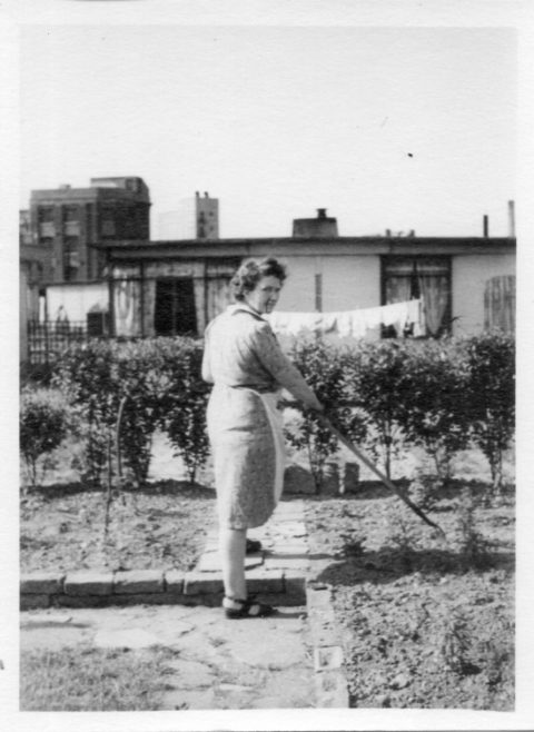 Annie Flanders No. 7 Hind Grove, Poplar, E.14. c.1952 | Robert Flanders
