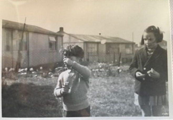 Geoff with cousin Maureen. 15 Bonchurch Road, Southampton | Geoff Lindsay