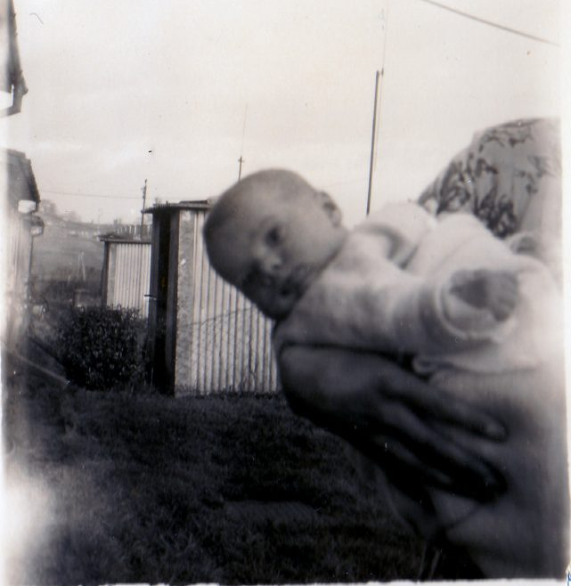 Age 2 months January 1955. 70 Lockley Crescent, Hatfield, Hertfordshire | Gillian Beckford