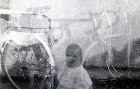 Spring 56 Dads ghost picture at Lockley Crescent, Hatfield, Hertfordshire