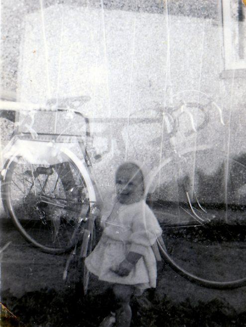 Spring 56 Dads ghost picture at Lockley Crescent, Hatfield, Hertfordshire | Gillian Beckford