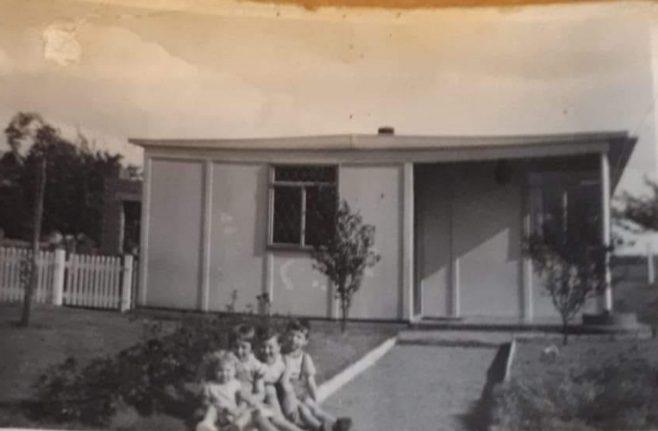 Brigitte and her family. Oostnieuwkerke, near Roeselare | Brigitte Vandermeersch