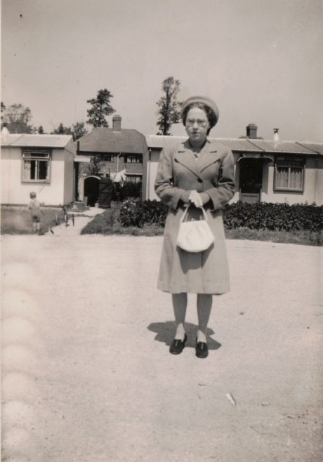 Margaret Tibble (nee Arnold), my father's youngest sister. 13 Mill Close, Ringmer | Kevin Arnold