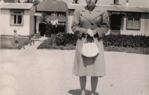 Margaret Tibble (nee Arnold), my father's youngest sister. 13 Mill Close, Ringmer