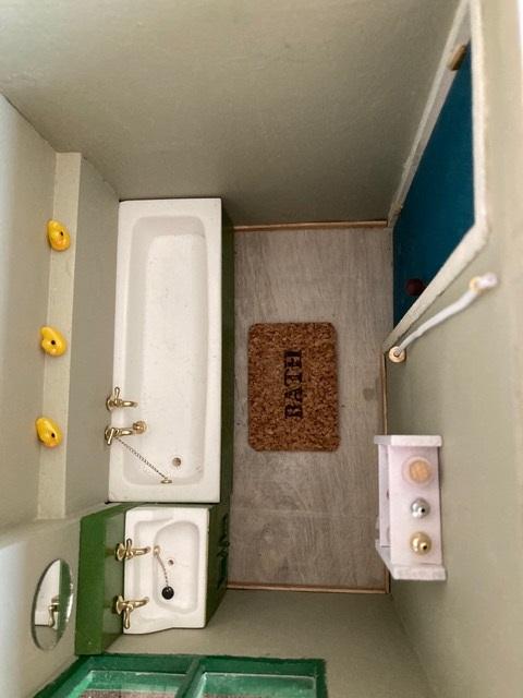 Bathroom Un-Seco Mk3 scale model | Philip Rockhill