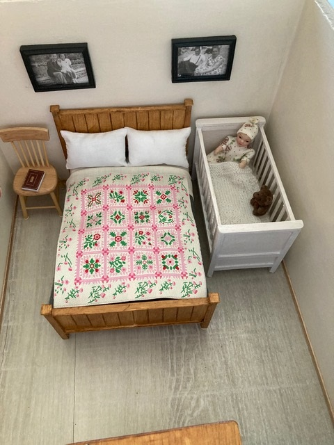 Bedroom 2 Uni-Seco Mk3 scale model | Philip Rockhill
