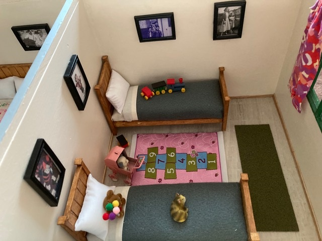 Bedroom1 Uni-Seco Mk3 scale model | Philip Rockhill