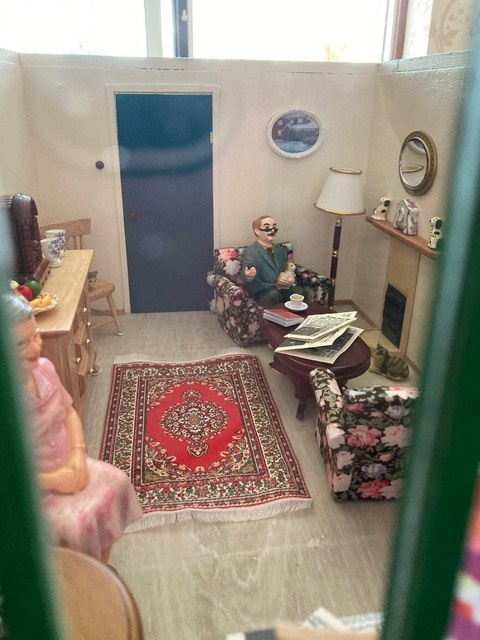 Living room Uni-Seco Mk3 scale model | Philip Rockhill