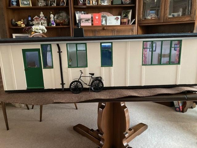 Rear view Uni-Seco Mk3 scale model | Philip Rockhill