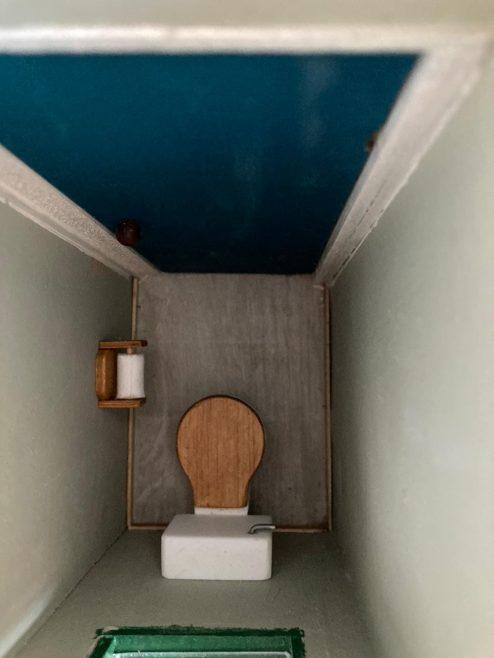 Toilet Uni-Seco Mk3 scale model | Philip Rockhill