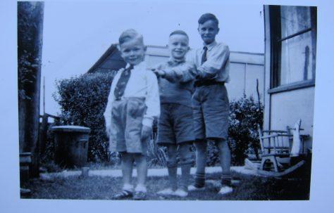 Paul & Trevor Willis 1960's. Roding Avenue, Barking, Essex