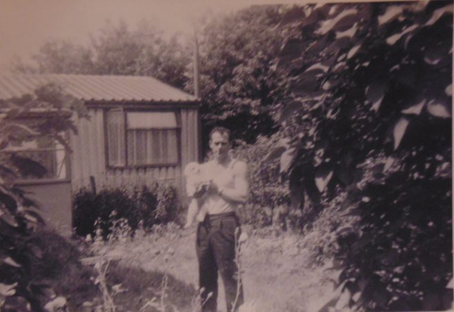 George Tilbury early 1960s. 16 Roding Avenue, Barking, Essex