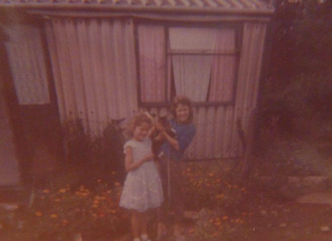 Denise and Yvonne Tilbury. 16 Roding Avenue, Barking, Essex