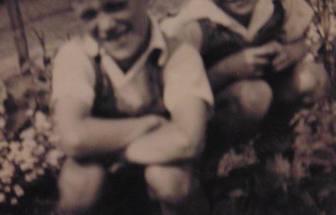 Barry and Derek Tilbury. 16 Roding Avenue, Barking, Essex