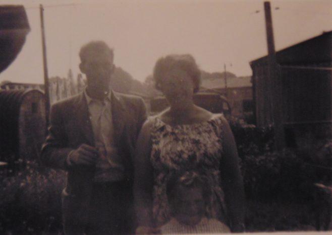 Miriam and George Tilbury. 16 Roding Avenue, Barking, Essex
