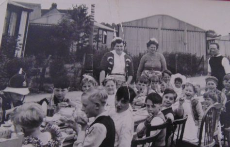 Roding Avenue Coronation Party. Barking, Essex