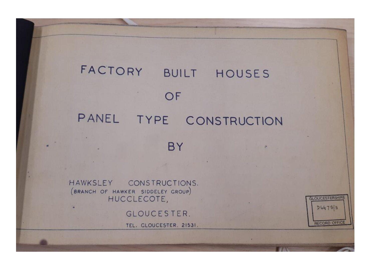 Hawksley BL8 construction manual